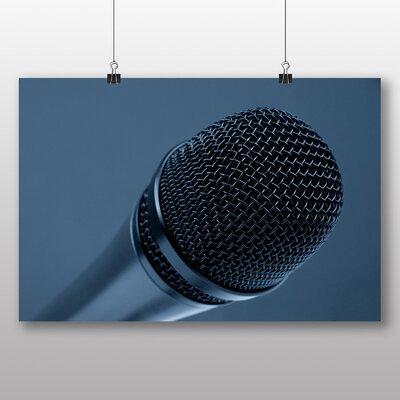 Big Box Art 'Microphone' Photographic Print