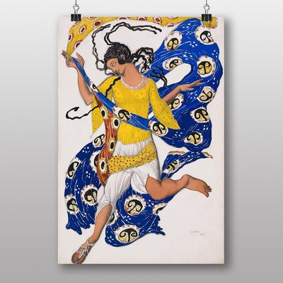 "Big Box Art ""The Butterfly"" by Leon Bakst Art Print"