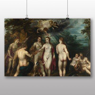 Big Box Art 'Judgement of Paris' by Peter Paul Rubens Art Print