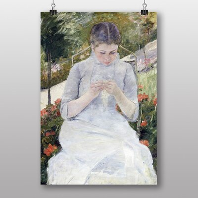 "Big Box Art ""Girl in the Garden"" by Mary Cassatt Art Print"