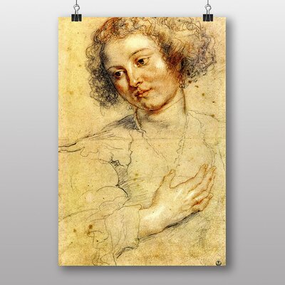 "Big Box Art ""Head of a Woman"" by Peter Paul Rubens Art Print"