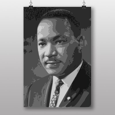Big Box Art Martin Luther King No.3 Graphic Art