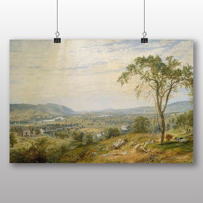 Big Box Art 'The Valley' by Jasper Francis Cropsey Art Print