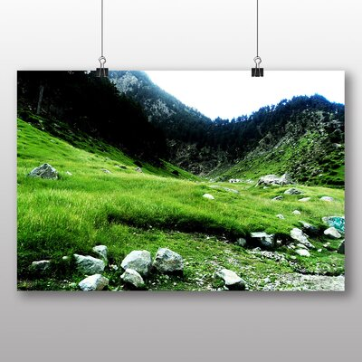 Big Box Art Pakistan Landscape No.2 Photographic Print on Canvas