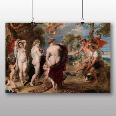 Big Box Art 'The Judgement of Paris' by Peter Paul Rubens Art Print
