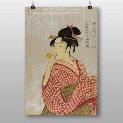 "Big Box Art ""Vintage Japanese Oriental Art No.19"" by Kitagawa Utamaro Art Print"