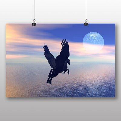 Big Box Art Pegasus Mythology Flying Horse Graphic Art