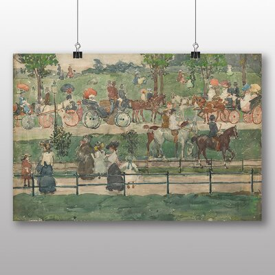 Big Box Art 'Central Park' by Maurice Prendergast Art Print