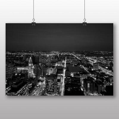 Big Box Art Philadelphia Pennsylvania City Skyline USA Photographic Print