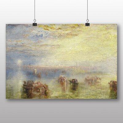 Big Box Art 'Approach to Venice' by Joseph Mallord William Turner Art Print