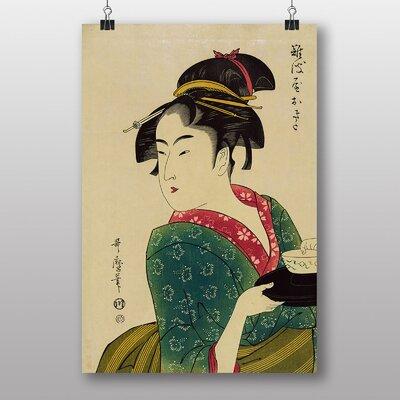 Big Box Art Vintage Japanese Oriental No.12 by Kitagawa Utamaro Art Print