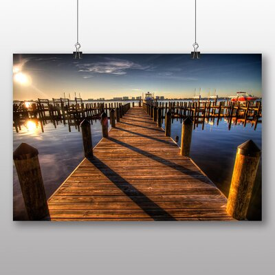 Big Box Art Pier Jetty Sea No.5 Photographic Print