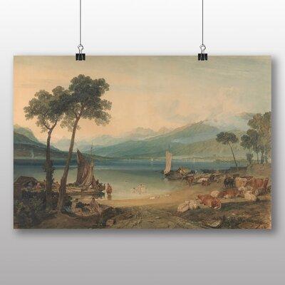 Big Box Art 'Lake Geneva' by Joseph Mallord William Turner Art Print