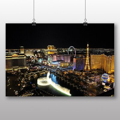 Big Box Art Las Vegas Strip Skyline Nevada USA No.5 Photographic Print