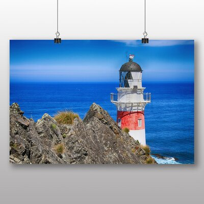 Big Box Art Lighthouse No.4 Photographic Print on Canvas