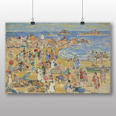 Big Box Art 'View Along New England Coast' by Maurice Prendergast Art Print