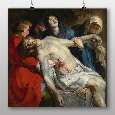 Big Box Art 'The Entombment' by Peter Paul Rubens Art Print