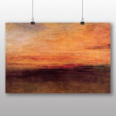 Big Box Art 'Sun Setting' by Joseph Mallord William Turner Art Print