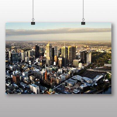 Big Box Art Melbourne Australia Photographic Print