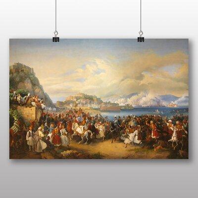 Big Box Art 'Reception of King Othon' by Peter Von Hess Art Print
