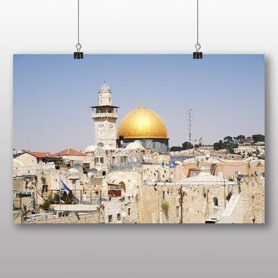 Big Box Art Jerusaelm Israel Photographic Print on Canvas