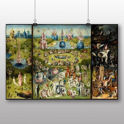 Big Box Art 'The Elder the Garden of Earthly Delights' by Pieter Bruegel Art Print