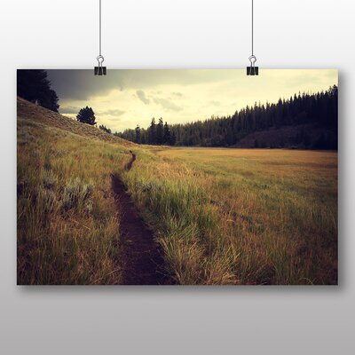 Big Box Art Landscape Path No.2 Photographic Print on Canvas