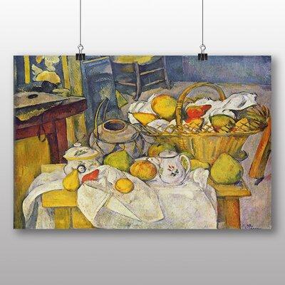 Big Box Art 'Still Life No.9' by Paul Cezanne Art Print