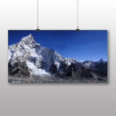Big Box Art Mount Everest Mountain No.2 Photographic Print Wrapped on Canvas