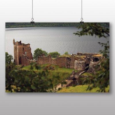 Big Box Art Loch Ness Scotland No.2 Photographic Print on Canvas