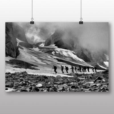 Big Box Art Mountain Climbing No.2 Graphic Art Wrapped on Canvas