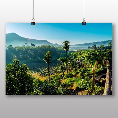 Big Box Art Mountain landscape Thailand No.1 Photographic Print Wrapped on Canvas