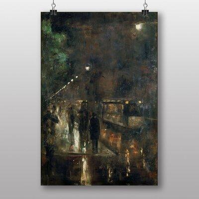 "Big Box Art ""Nocturnal Berlin"" by Lesser Ury Art Print"