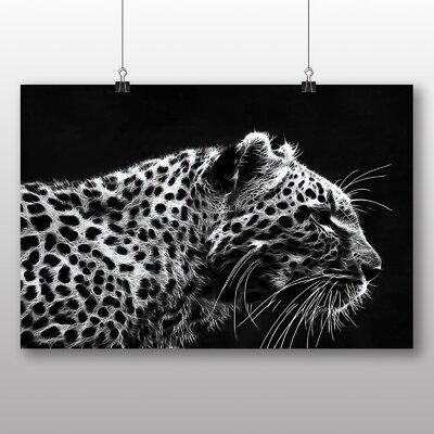 Big Box Art Leopard Tiger Photographic Print
