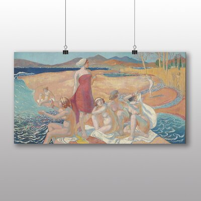 "Big Box Art ""The Awakening of Ulysses"" by Maurice Denis Art Print on Canvas"