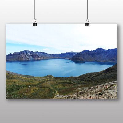 Big Box Art Mt Paektu North Korea Photographic Print on Canvas