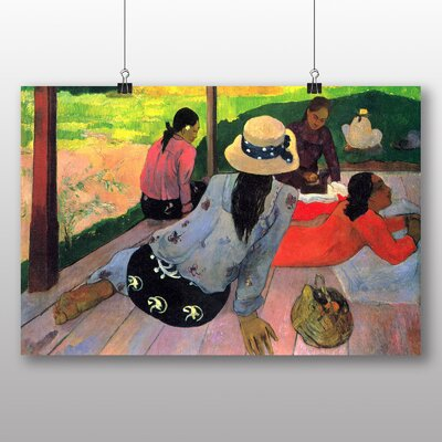 Big Box Art 'The Siesta' by Paul Gauguin Art Print