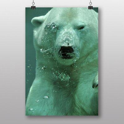 Big Box Art 'Polar Bear Under Water' Photographic Print