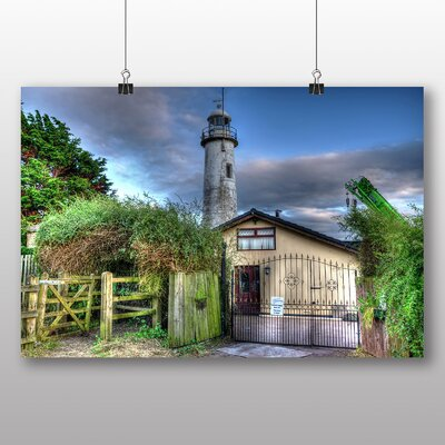 Big Box Art Lighthouse No.1 Photographic Print Wrapped on Canvas