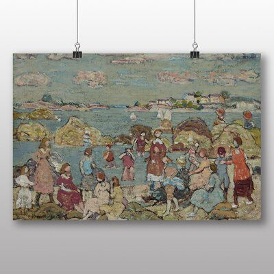 Big Box Art 'Seashore' by Maurice Prendergast Art Print