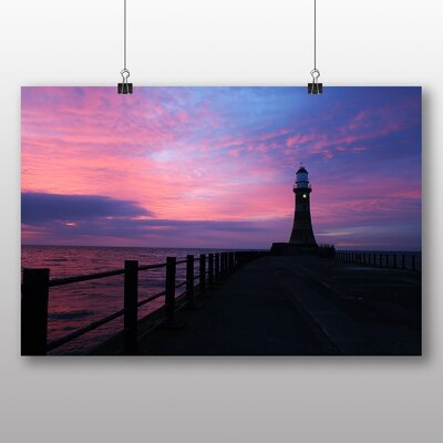 Big Box Art Lighthouse No.7 Photographic Print on Canvas