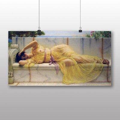 Big Box Art 'Resting Girl No.1' by John William Godward Art Print