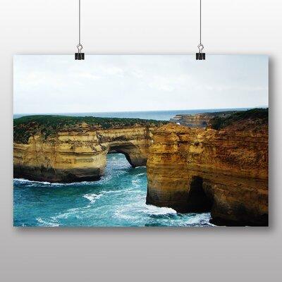 Big Box Art London Bridge Australia Photographic Print Wrapped on Canvas