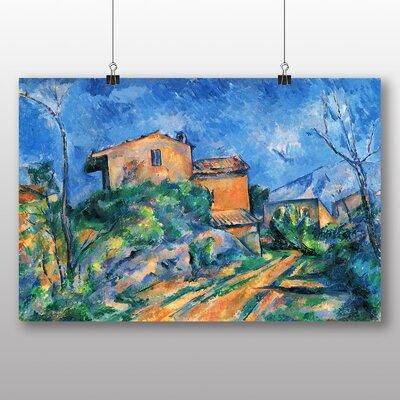 Big Box Art 'Landscape and Houses No.1' by Paul Cezanne Art Print