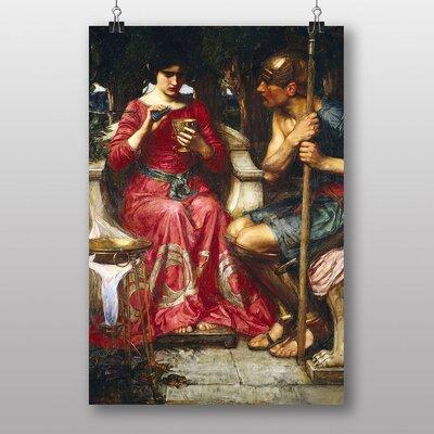 Big Box Art Jason and Medea by John William Waterhouse Art Print