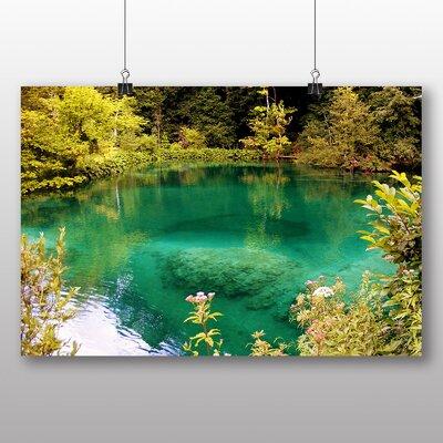 Big Box Art Plitvice Lakes Croatia No.2 Photographic Print on Canvas