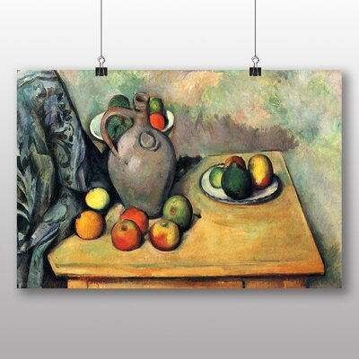 Big Box Art 'Still Life No.7' by Paul Cezanne Art Print