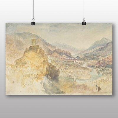 Big Box Art 'Chatel Argent' by Joseph Mallord William Turner Art Print
