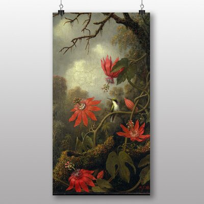 Big Box Art 'Flowers' by Martin Johnson Heade Art Print