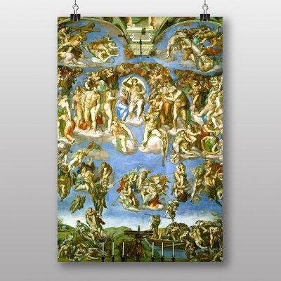 Big Box Art Last Judgement by Michelangelo Art Print